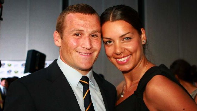 Matt Giteau with beautiful, Wife Bianca Giteau