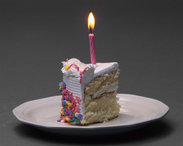 Image Of Birthday Cake With One Candle : Happy First Birthday, Waltzing More Than Matilda ...