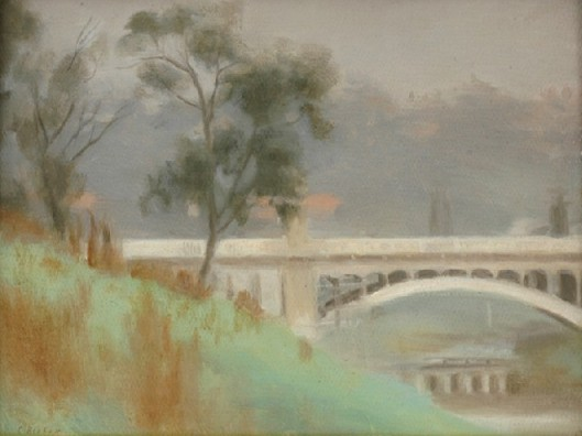 Clarice_Beckett_-_Punt_Road_Bridge,_Yarra_River