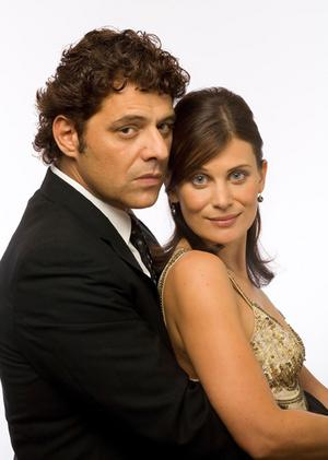 Diana Glenn and Vince Colosimo.