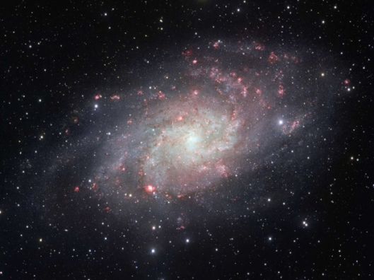 SPACE-TRIANGULUM-GALAXY-MESSIER 33