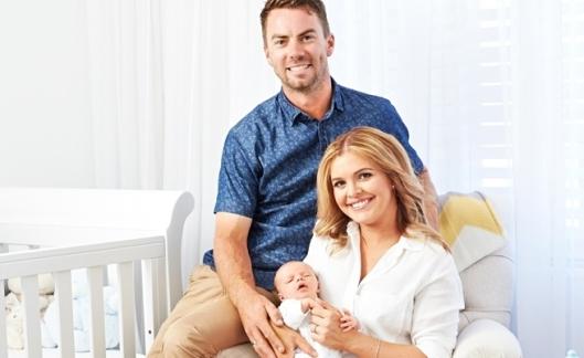 Ben and Jemma Van Ryt with their newborn son Thomas James
