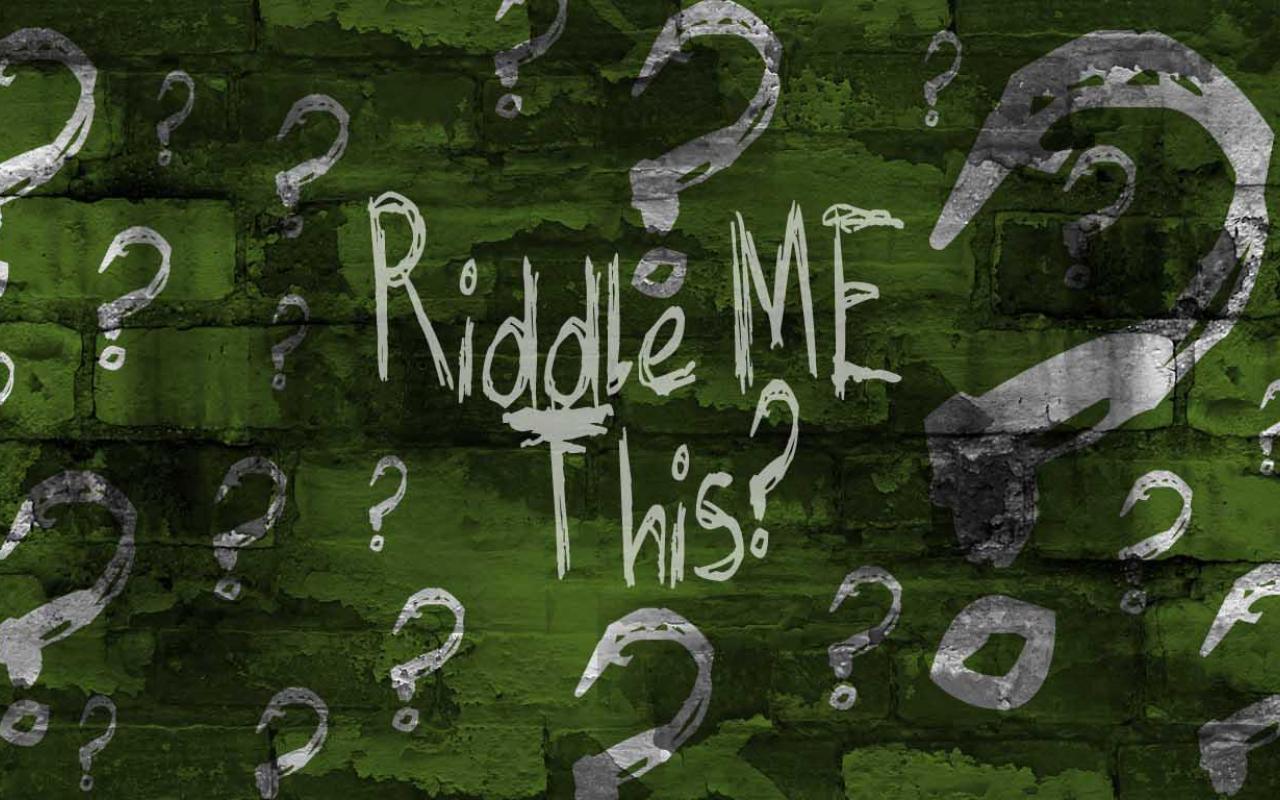 Riddle Me This Evil Joker 15025 Wallpaper  Viewallpapercom